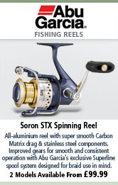 Abu Garcia Soron STX Spinning Reel