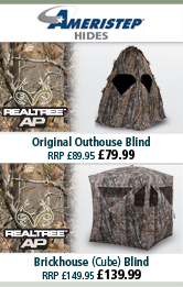 Ameristep Doghouse (Dome) Blind and Brickhouse (Cube) Blind