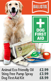 Ballistol Dog first Aid