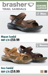 Brasher Mayan Mens and Inca Ladies Sandals