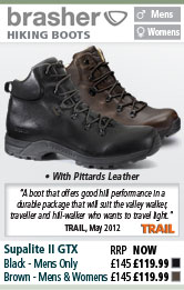 Brasher Supalite II GTX Walking Boots, Brown and Black
