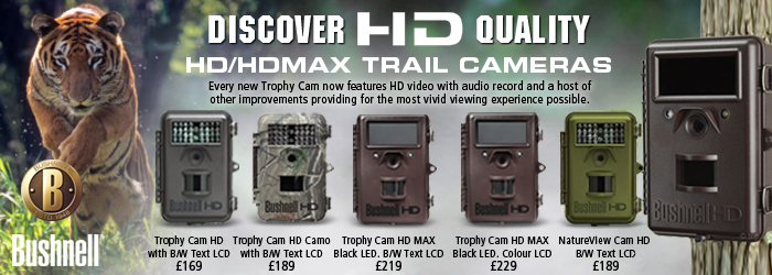 Bushnell New Trophy Cam HD Max Trail Cameras
