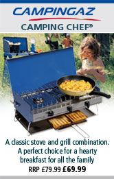 Campingaz Camping Chef Double Burner and Grill
