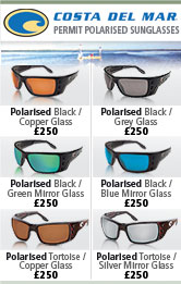Costa Del Mar Permit Polarised Sunglasses