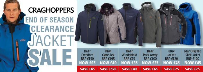 Craghoppers Winter Jacket Sale