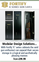Fortify K Series Gun Safes