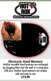 Hot Rox Electronic Hand Warmer