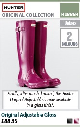 Hunter Original Adjustable Gloss Wellington Boots