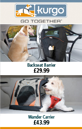 Kurgo Backseat Barrier and Wander Carrier