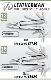 Leatherman Fuse and Blast