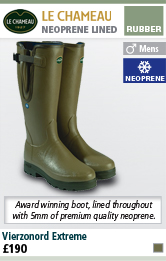Le Chameau Vierzonord Extreme Mens Wellington Boots with FREE Boot Bag