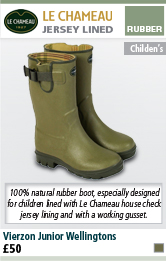 Le Chameau Vierzon Junior Wellingtons