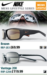 Nike Brazen and Vantage 200 Sunglasses