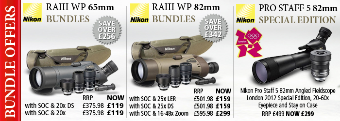 Nikon Spotting Scope Bundle Offers