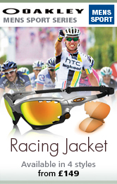 Oakley Mens Racing Jacket Active Sunglasses