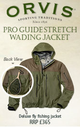 Orvis Pro Guide Stretch Wading Jacket