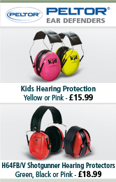Peltor Kids Hearing Protection and H64FB/V Shotgunner Hearing Protectors