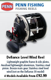 Penn Defiance Level Wind Reel