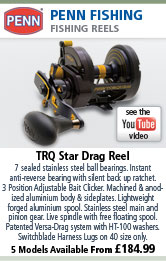 Penn TRQ Star Drag Reel