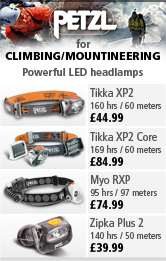 petzl Headlamps for Climbing and Mountaineering