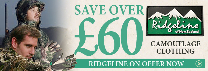 Ridgeline Camouflage Clothing Special Offer