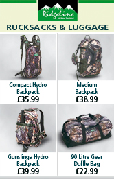Ridgeline Rucksacks and Luggage