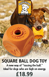 Ruff Square Ball Dog Toy