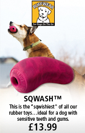 Ruffwear Sqwash Rubber Dog Toy