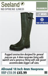 Seeland Allround 18 Inch 4mm Neoprene Wellington Boots