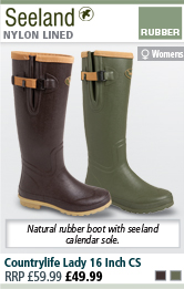 Seeland Countrylife Lady 16 Inch Wellington Boots