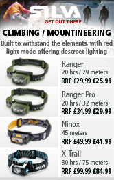 Silva Headlamps for Climbing and Mountaineering