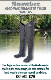 Snowbee 600D Wadermaster Thigh Waders