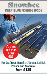 Snowbee Deep Blue Fishing Rods