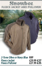 Snowbee Fleece Jacket and Pullover