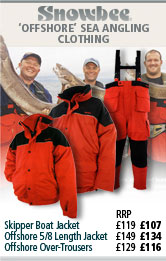 Snowbee Skipper Jacket, Offshore 5/8 Length Jacket and Offshore Over-Trousers