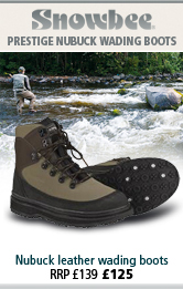 Snowbee Prestige Nubuck Wading Boots