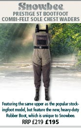 Snowbee Prestige ST Combi-Felt Sole Chest Waders - Bootfoot