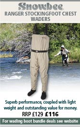 Snowbee Ranger Stockingfoot Chest Waders