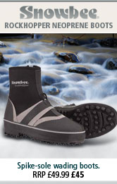 Snowbee Rockhopper Neoprene Spike-Sole Wading  Boots