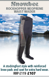Snowbee Rockhopper Neoprene Waist Waders