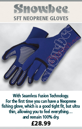 Snowbee SFT Neoprene Gloves - Royal Blue