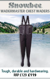 Snowbee Wadermaster Chest Waders New for 2012