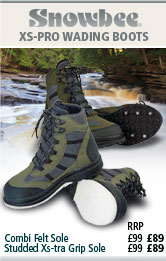Snowbee XS-Pro Wading Boots - Combi Grip Sole and Studded Xs-tra  Grip Sole