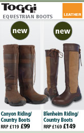 Toggi Canyon Riding/Country Boots and Blenheim Riding/Country Boots
