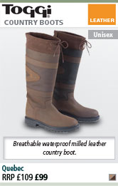 Toggi Quebec Leather Country Boots - Chocolate