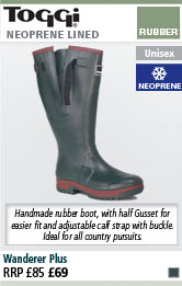 Toggi Wanderer Plus Wellington Boots - Green