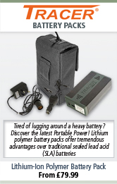 Tracer Tracer Lithium-Ion Polymer Battery Packs