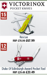 Victorinox Rescue and Duke of Edinburgh Award Pocket Knives