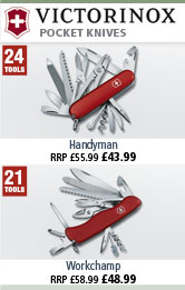Victorinox Handyman and Workchamp Pocket Tools