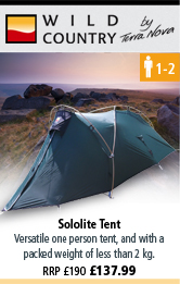 Wild Country Sololite Tent - Green